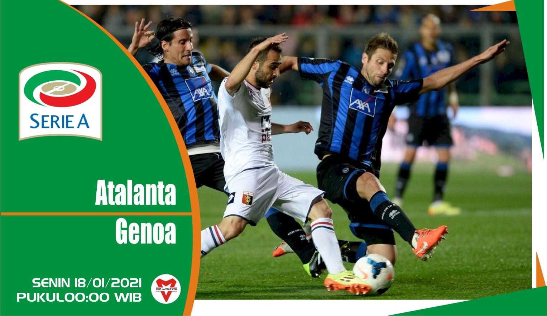 Prediksi Pertandingan Liga Italia: Atalanta vs Genoa