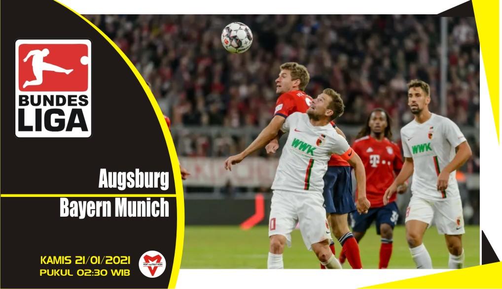 Prediksi Pertandingan Liga Jerman: Augsburg vs Bayern Munich