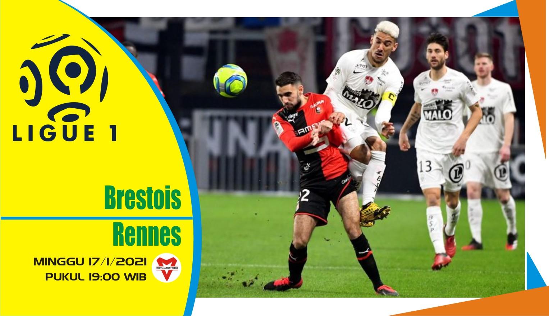 Prediksi Pertandingan Liga Prancis: Brest vs Rennes