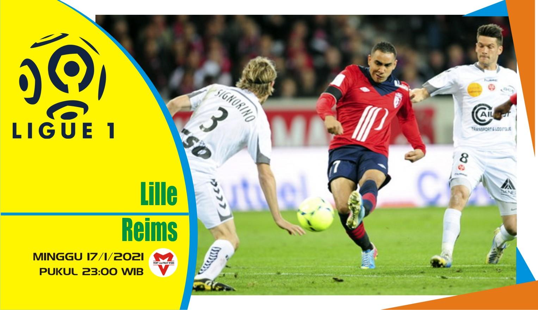 Prediksi Pertandingan Liga Prancis: Lille vs Reims