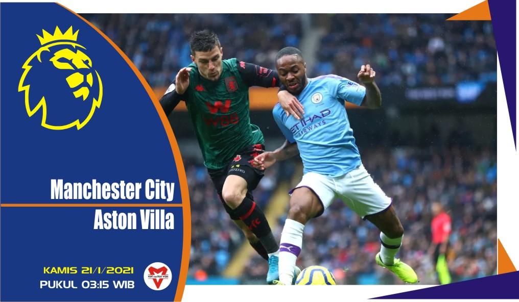 Prediksi Pertandingan Liga Inggris: Man City vs Aston Villa