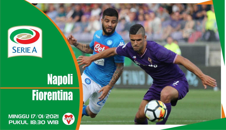 Prediksi Pertandingan Liga Italia: Napoli vs Fiorentina