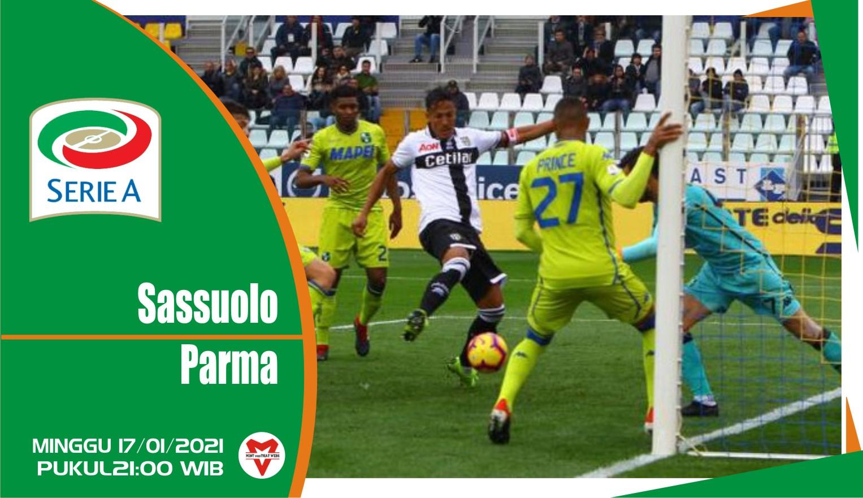 Prediksi Pertandingan Liga Italia: Sassuolo vs Parma