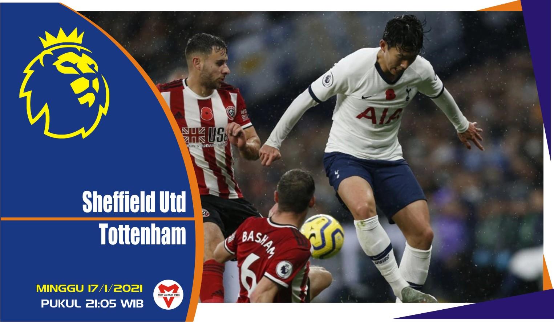 Prediksi Pertandingan Liga Inggris: Sheffield United vs Tottenham Hotspur