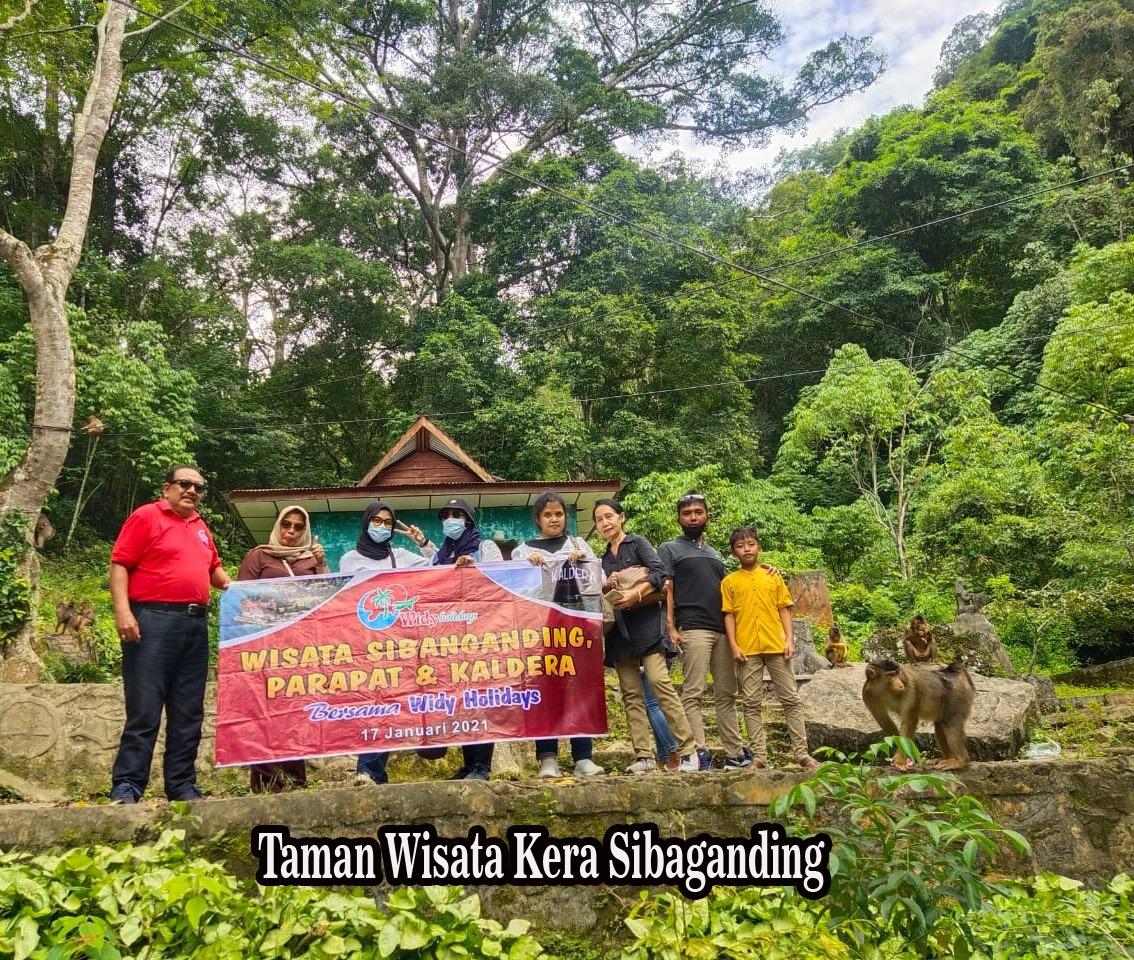 Bersama Widy Holidays, Memajukan Taman Wisata Kera Sibaganding